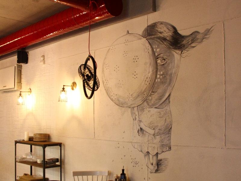 объект рисунок на бетоне