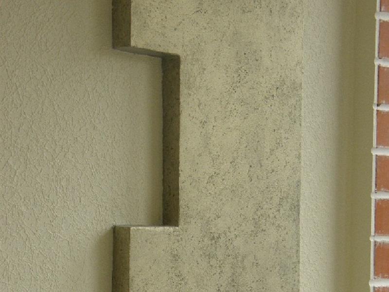 декоративные отделки на стене