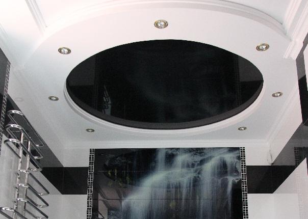 Натяжные потолки глубокие