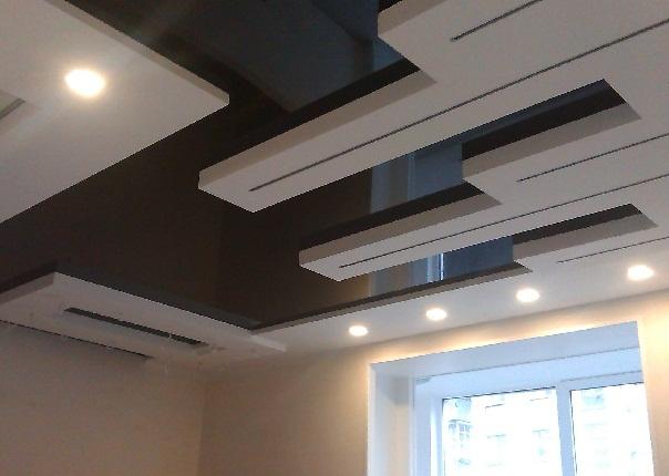 Натяжные потолки дизайнерские