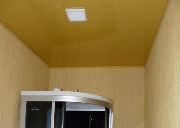 Натяжные потолки медовые