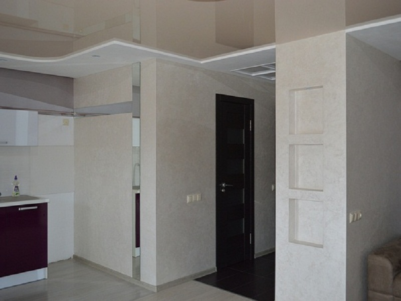 Объекты квартиры с невысокими потолками
